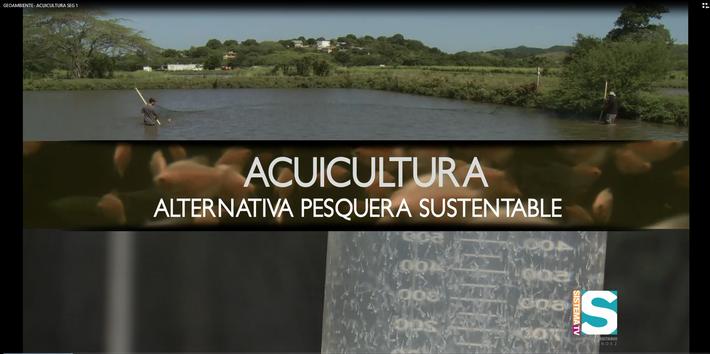 Geoambiente: Acuicultura seg. 1