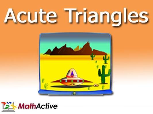Acute Triangles (Navajo Voice)