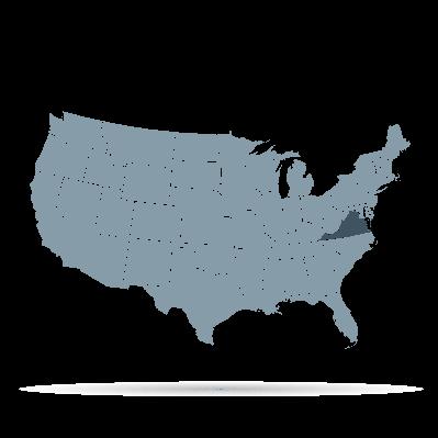 U.S. States - Virginia | Clipart
