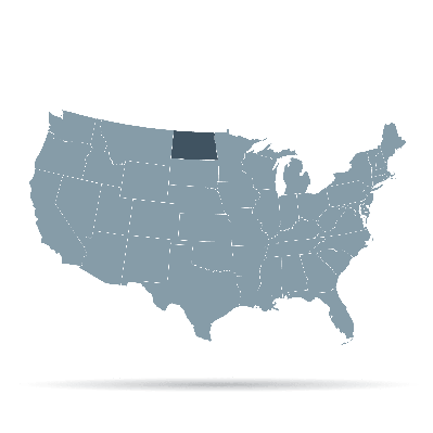 U.S. States - North Dakota | Clipart