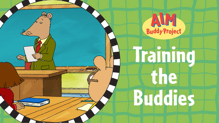 Video 5: Training the Buddies | ARTHUR Social, Emotional, and Character Development Curriculum