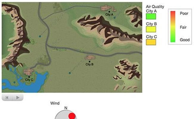 Air Pollution Model (aerial)
