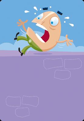 Humpty Dumpty Takes a Tumble ... | Clipart
