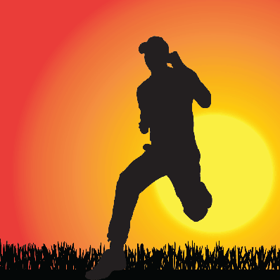 Silhouette of A Man | Clipart