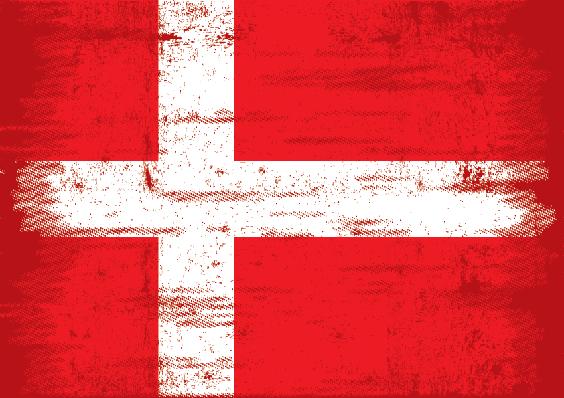 Grunge Flag: Denmark | Clipart