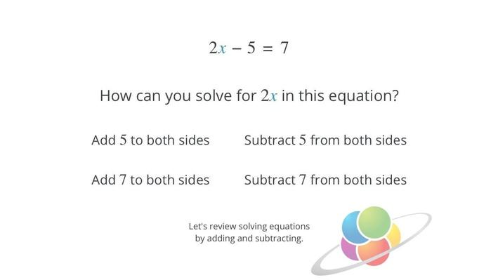 Multi-Step Equations | School Yourself Algebra
