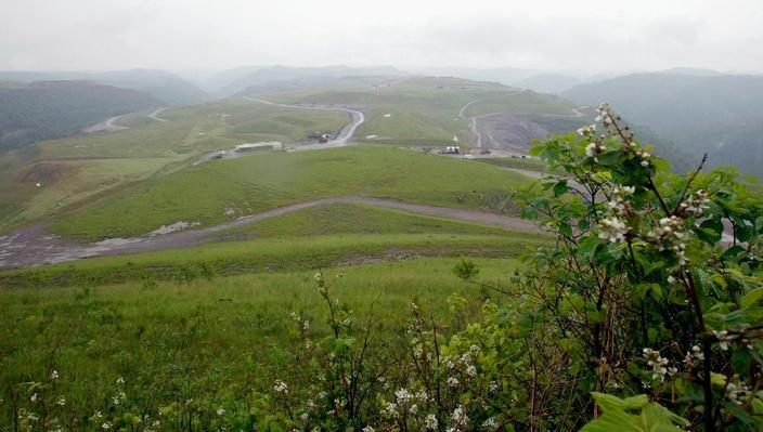 West Virginia, Kayford Mountain, Removed Mountain Top | Earth's Resources