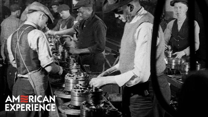 The First Automobile Assembly Line | American Experience