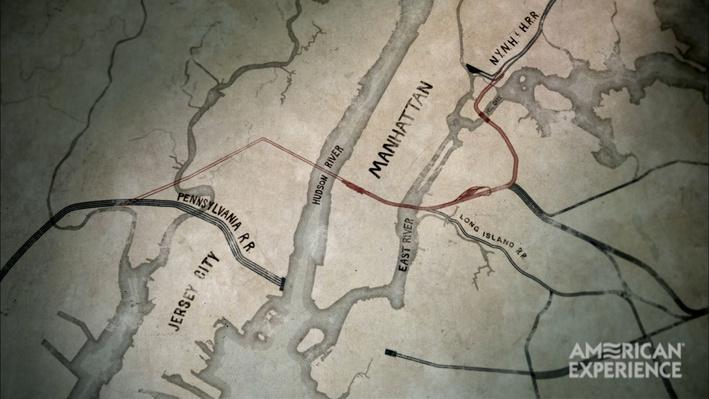 Map of Pennsylvania Railroad Tunnel System | American Experience