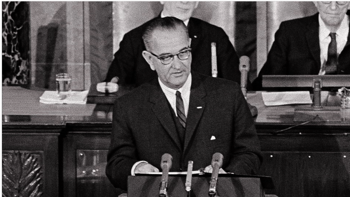 "1964: ""LBJ's War on Poverty"""