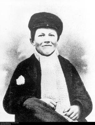 Portrait of a Young Thomas Edison, circa 1865