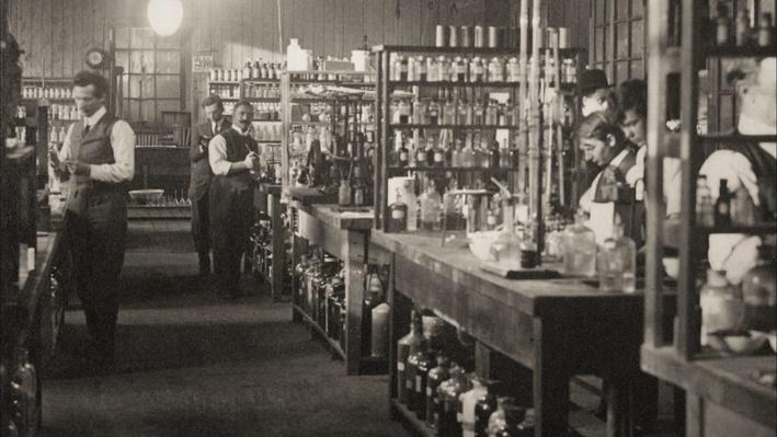 Thomas Edison's Chemistry Lab, 1910
