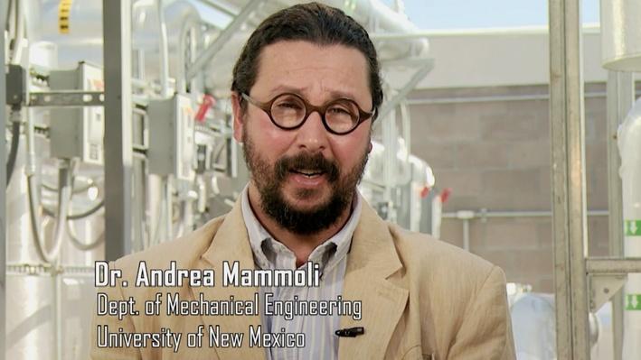 Dr. Andrea Mammoli, Mechanical Engineer