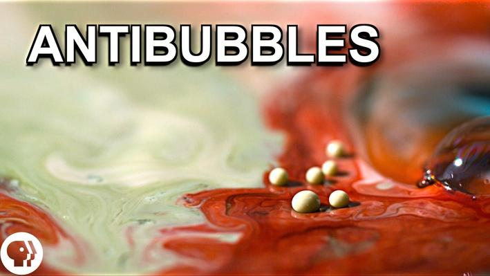 What Are Antibubbles?   Physics Girl