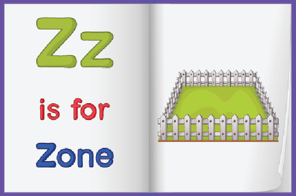 Picture of Zone in A Book | Clipart