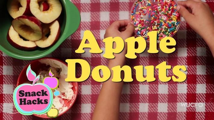 Snack Hacks | Apple Donuts