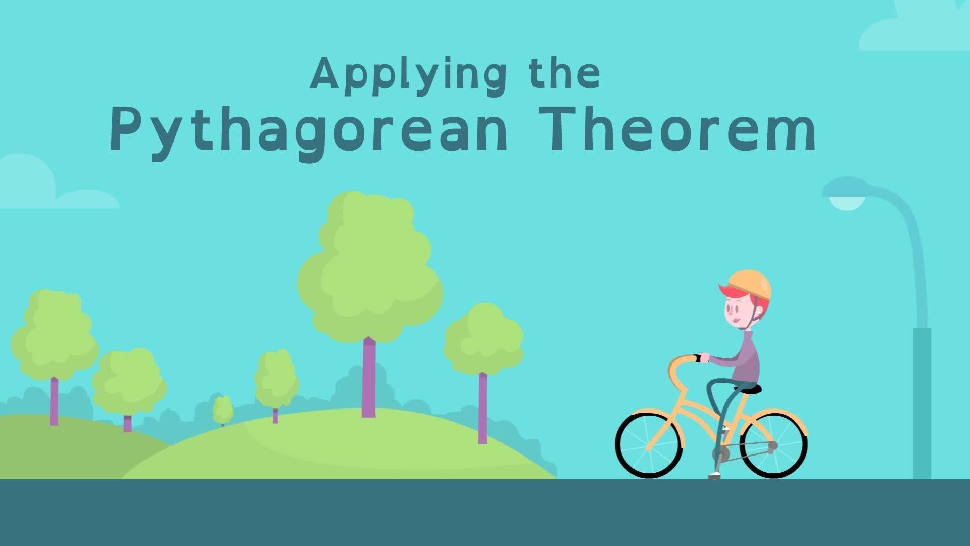 Applying The Pythagorean Theorem Pbs Learningmedia