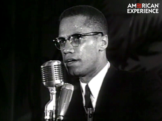 Malcolm X Preaches Black Self-Empowerment