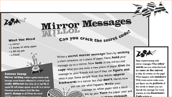 Mirror Messages