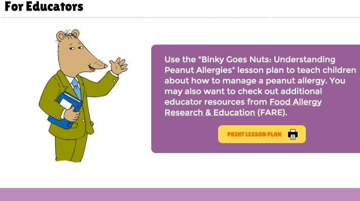 Binky Goes Nuts: Understanding Peanut Allergies
