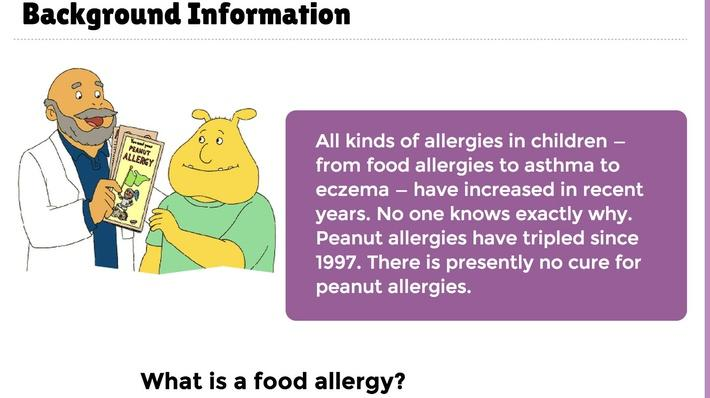 Peanut Allergy Background Information