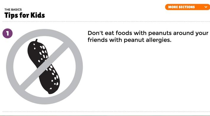 Peanut Allergy Tips for Kids