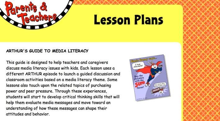 Arthur's Guide to Media Literacy