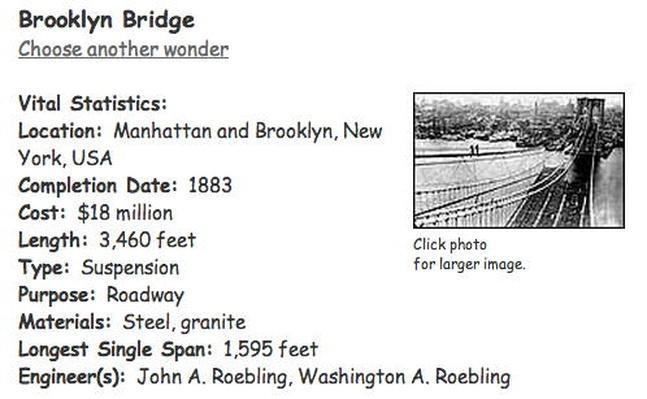 Building Big | Brooklyn Bridge