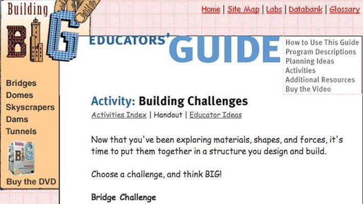 Building Big | Building Challenges Handout