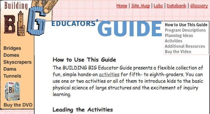 Building Big | Educators' Guide