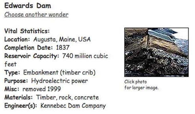 Building Big | Edwards Dam