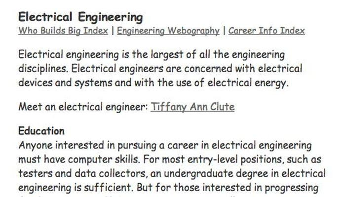 Building Big | Engineering Careers: Electrical Engineering