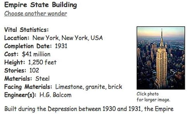 Building Big | Empire State Building