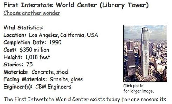Building Big | First Interstate World Center (Library Tower)