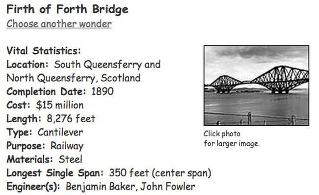 Building Big | Firth of Forth Bridge