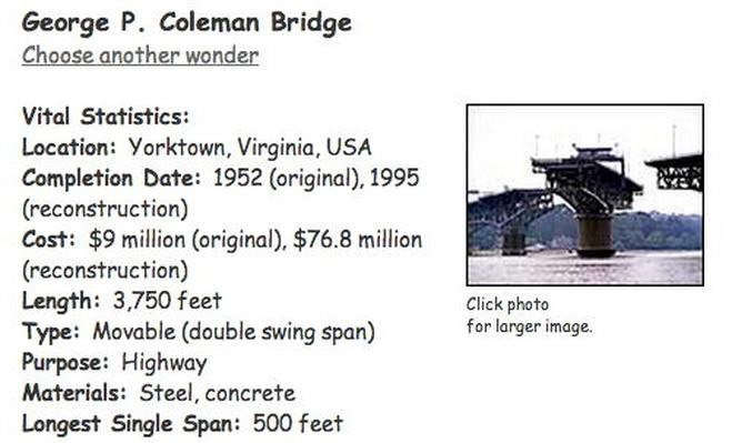Building Big | George P. Coleman Bridge