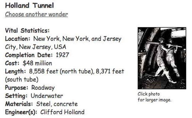 Building Big | Holland Tunnel