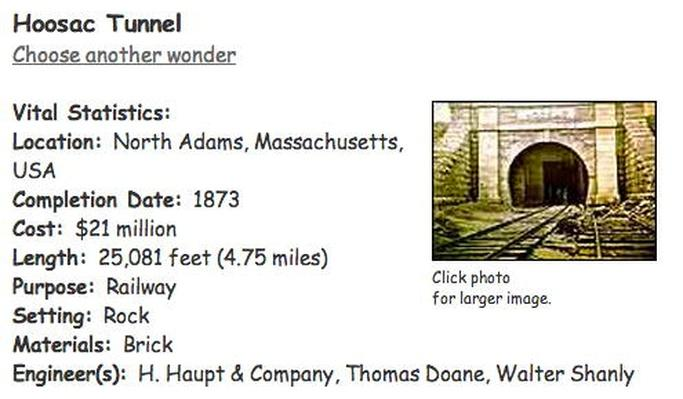 Building Big | Hoosac Tunnel