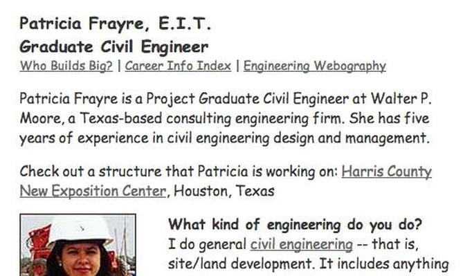 Building Big | Graduate Civil Engineer Interview: Patricia Frayre