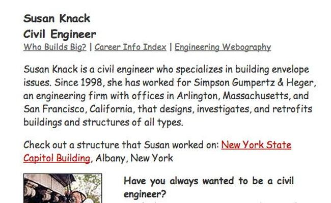 Building Big | Civil Engineer Interview: Susan Knack
