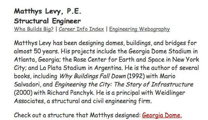 Building Big | Structural Engineer Interview: Matthys Levy