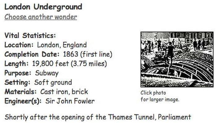 Building Big | London Underground
