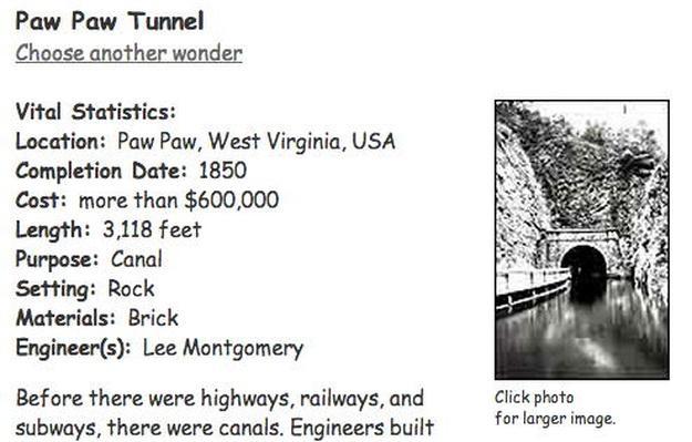 Building Big | Paw Paw Tunnel