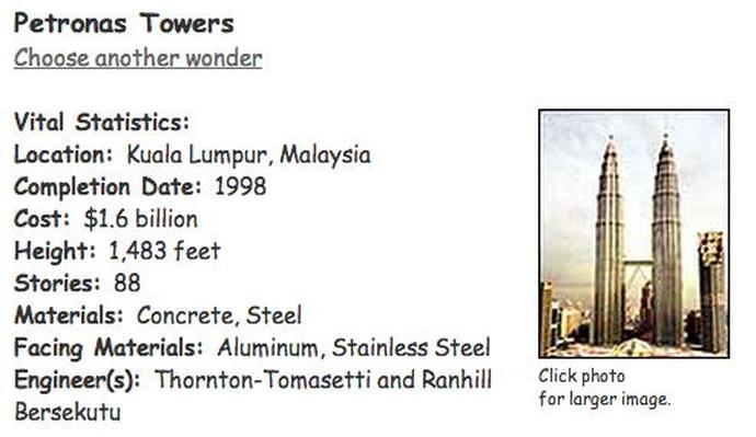 Building Big | Petronas Towers