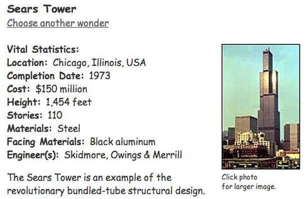 Building Big | Sears Tower