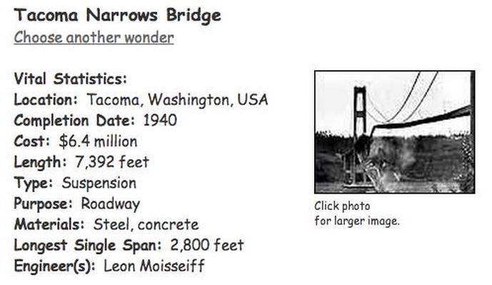 Building Big | Tacoma Narrows Bridge