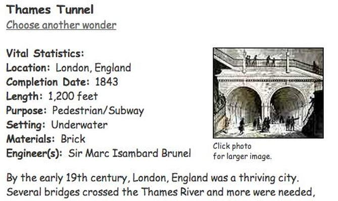 Building Big | Thames Tunnel