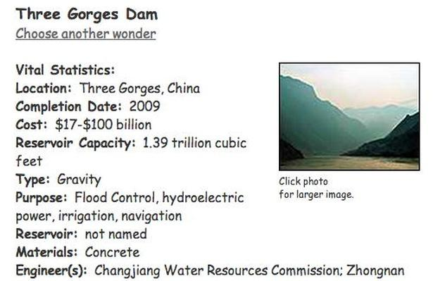 Building Big | Three Gorges Dam