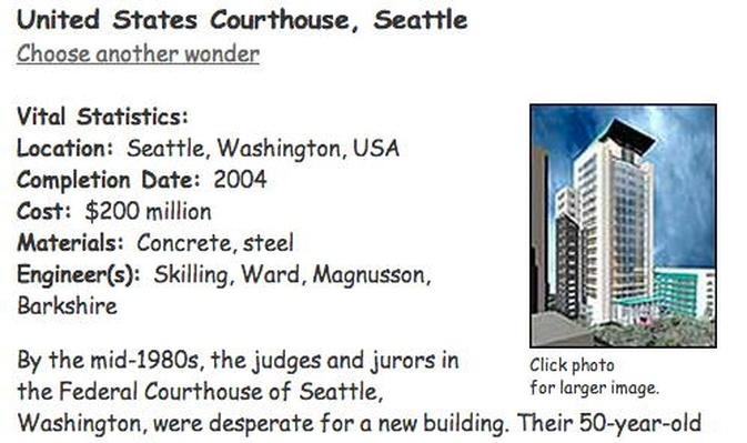 Building Big | United States Courthouse, Seattle