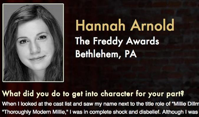 Starring: Hannah Arnold